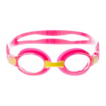 Фото Очки FILLY JR (FILLY JR-PINK/YELLOW/CLEAR), Цвет - розовый, желтый, Маски для плавания