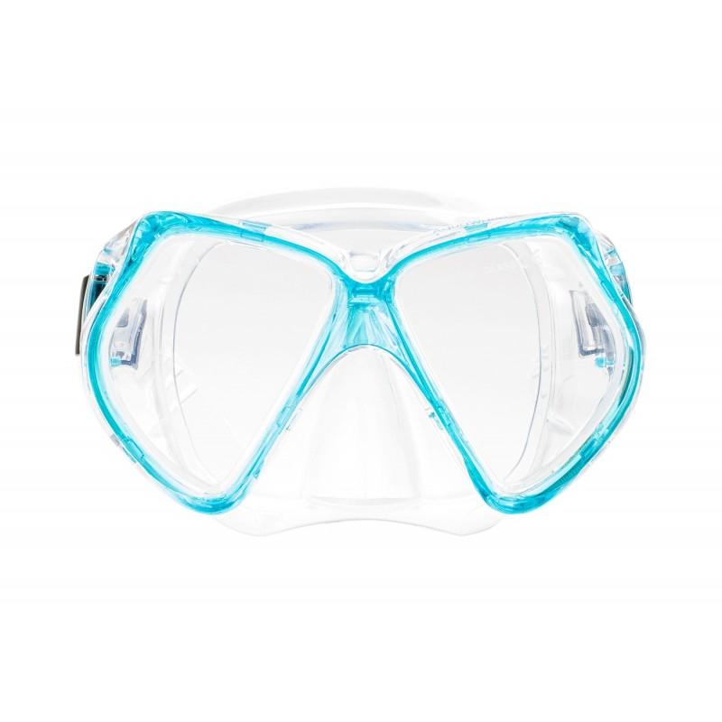 Купить Маски для плавания, Маска opal mask (OPAL MASK-TURQUOISE/TRANSPAREN), Aquawave, Бирюзовый, Прозрачный, Весна-Лето 2019