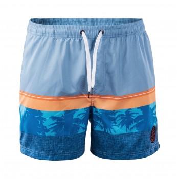 Фото Шорты PALAWAN (PALAWAN-BLUE/ORANGE/PALM PRINT), Цвет - синий, оранжевый, Спортивные шорты