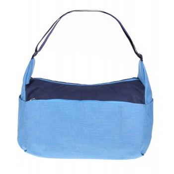 Фото Сумка RAPID (RAPID-BLUE/NAVY), Цвет - голубой, синий, Сумки через плечо