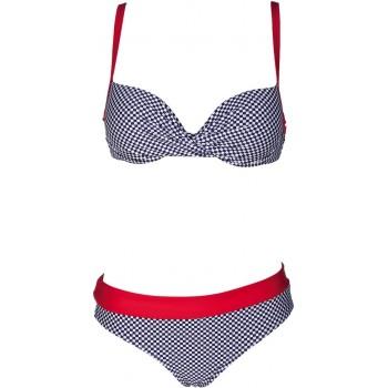 Фото Купальник Vichy Twisted Wire (1B433-74), Цвет - серый, красный, Плавки и купальники