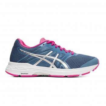Фото Кроссовки для бега GEL-EXALT 5 (1012A148-401), Цвет - голубой, розовый, Кроссовки для бега