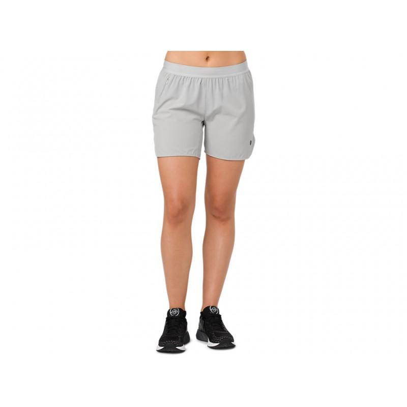 Купить Спортивные шорты, Шорты спорт 5, 5 short (154556-7007), Asics, Серый, Весна-Лето 2018