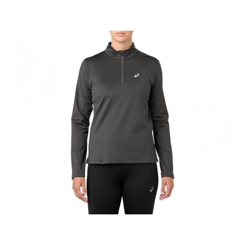 Asics / Спортивная футболка с длинным рукавом silver ls 1/2 zip winter top (2012A034-020)