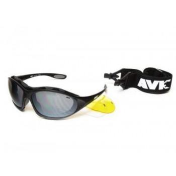 Фото Спортивные очки AVK Crocus 01 (AVK Crocus 01), Цвет - черный, Очки