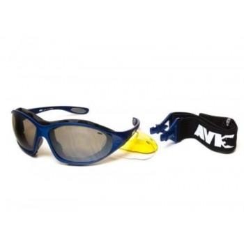 Фото Спортивные очки AVK Crocus 04 (AVK Crocus 04), Цвет - синий, Очки