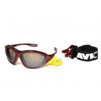 Фото Спортивные очки AVK Crocus 05 (AVK Crocus 05), Цвет - красный, Очки
