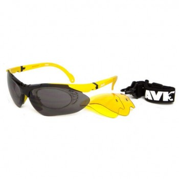 Фото Спортивные очки AVK Esplosivo (AVK Esplosivo Yellow), Цвет - желтый, Очки