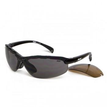 Фото Спортивные очки AVK Lince (AVK Lince), Цвет - черный, серый, коричневый, Очки