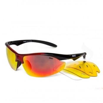 Фото Спортивные очки AVK Orion2 (AVK Orion2), Цвет - черный, красный, Очки