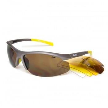 Фото Спортивные очки AVK Rocca 03 (AVK Rocca 03), Цвет - серый, Очки