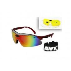Спортивные очки AVK Veloce Red