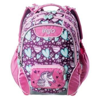 Фото Рюкзак COMPANION (COMPANION-PURPLE HEARTS PRINT), Цвет - розовый, Городские рюкзаки