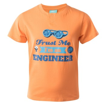 Фото Футболка ENGINEER KDB (ENGINEER KDB-SUN ORANGE), Цвет - оранжевый, Футболки