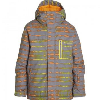 Фото Куртка горнолыжная All Day Printed (F6JB02-4530), Цвет - серый, Горнолыжные и сноубордные