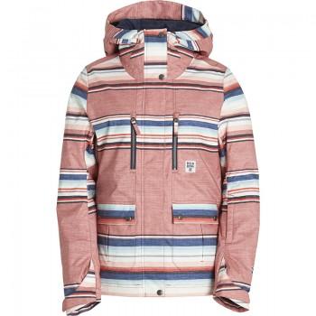 Фото Куртка горнолыжная Hella (F6JF05-122), Цвет - коралловый, Горнолыжные и сноубордные