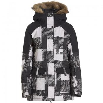 Фото Куртка горнолыжная Keila (F6JF10-143), Цвет - черный, белый, Горнолыжные и сноубордные