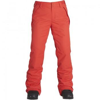 Фото Брюки горнолыжные Malla (F6PF01-3106), Цвет - красный, Горнолыжные и сноубордные