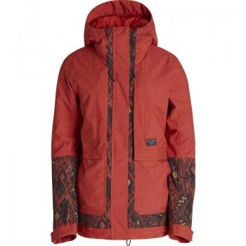 Фото Куртка с/б KOKO (Z6JF05-1332), Цвет - красный, Горнолыжные