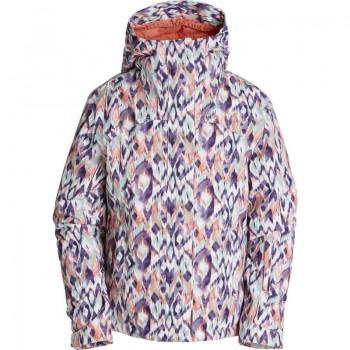 Фото Куртка с/б MALINA (Z6JG01-1711), Цвет - узор, Горнолыжные