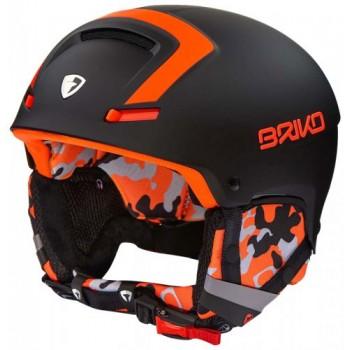 Фото Шлем Briko (FAITO-N082 Black/Orange), Цвет - черный, Горнолыжные шлемы