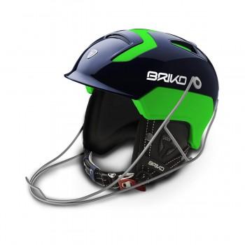 Фото Шлем Briko (SLALOM-B016 Blue/Green), Цвет - голубой, Горнолыжные шлемы