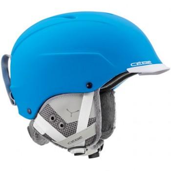 Фото Горнолыжный шлем Contest Visor (CONTEST VISOR PRO-BlueWhite), Цвет - голубой, Шлемы