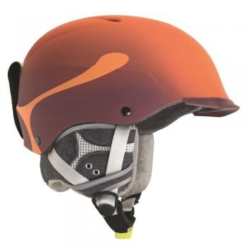 Фото Шлем CONTEST VISOR PRO-Orange (CONTEST VISOR PRO-Orange), Цвет - оранжевый, Горнолыжные шлемы