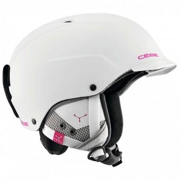 Фото Шлем CONTEST VISOR-WhitePurple (CONTEST VISOR-WhitePurple), Цвет - белый, пурпурный, Горнолыжные шлемы
