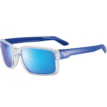 Фото Очки DUDE (DUDE-SHINY TRANSLCNT CLR  BLUE), Цвет - синий, Очки