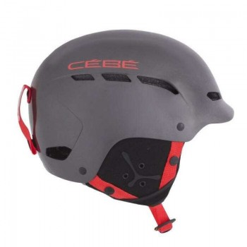Фото Шлем Cebe (DUSK RTL-ShineGunMetal/Red), Цвет - серый, красный, Горнолыжные шлемы