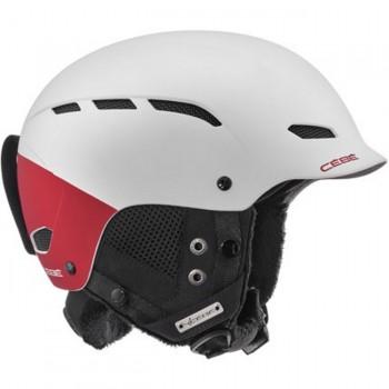Фото Горнолыжный шлем Dusk (DUSK-WhiteBurgundia), Цвет - белый, красный, Шлемы