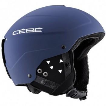 Фото Шлем ELEMENT-MattBlue (ELEMENT-MattBlue), Цвет - синий, Горнолыжные шлемы