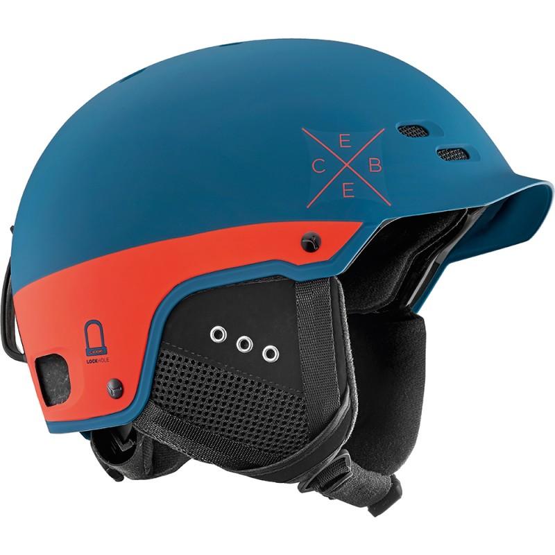 Купить Горнолыжные шлемы, Шлем pride-petrolorange (PRIDE-PetrolOrange), Cebe, Оранжевый, Осень-Зима 2017-2018