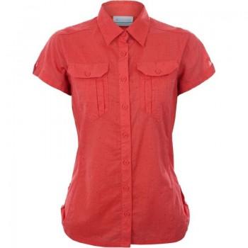 Фото Тенниска Camp Henry Short Sleeve Shirt (1450311-635), Цвет - коралловый, Короткий рукав