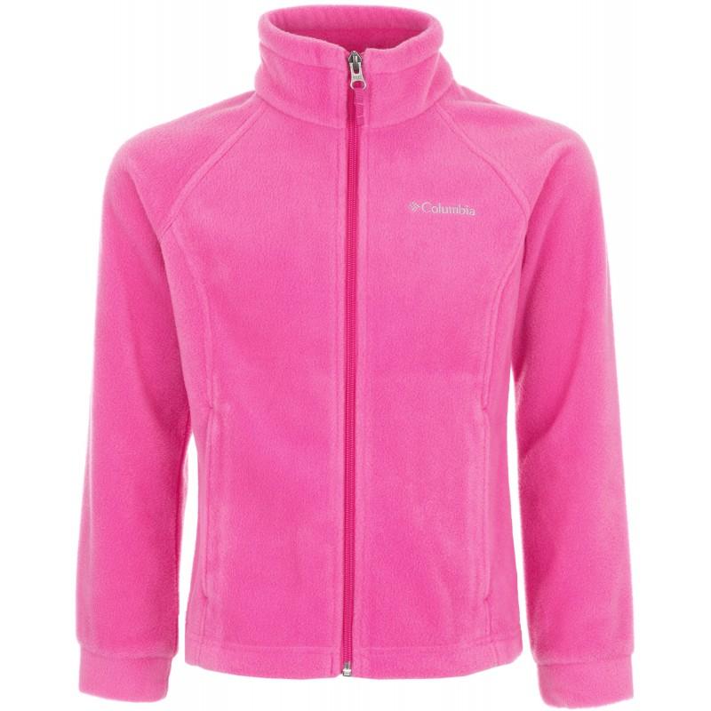 Купить Флисы, Флис fz benton springs fleece girl's knitted jacket (1510631-695), Columbia, Розовый, Осень, Зима, Осень-Зима 2017-2018