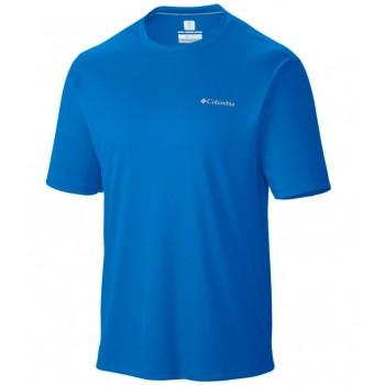 Фото Футболка для спорта Zero Rules Short Sleeve Shirt (1533311-431), Цвет - синий, Спортивные футболки