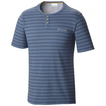 Фото Футболка Lookout Point Short Sleeve Henley Mens T-shirt (1577501-452), Футболки