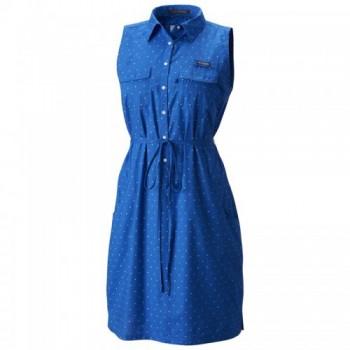 Фото Платье Super Bonehead II Sleeveless Dress (1577611-409), Цвет - голубой, Платья