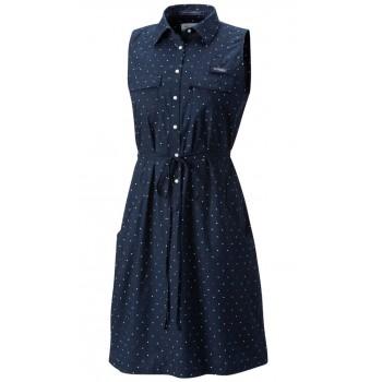 Фото Платье Super Bonehead II Sleeveless Dress (1577611-465), Цвет - синий, Платья