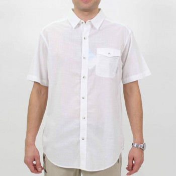 Фото Рубашка Cory Edge II Solid Short Sleeve Shirt Cory Edge II Solid SS Shirt (1581311-100), Короткий рукав