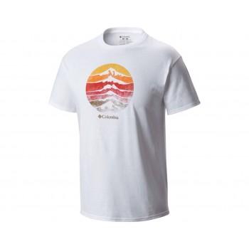 Фото Футболка CSC Mountain Sunset Tee Mens T-shirt (1659621-100), Футболки