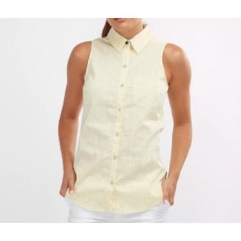 Фото Блуза Super Harborside Woven Sleeveless Shirt (1715671-707), Цвет - желтый, Туники и блузы