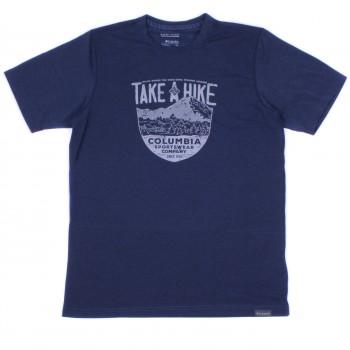 Фото Футболка Trail Shaker II Short Sleeve Shirt (1778822-469), Цвет - синий, Футболки