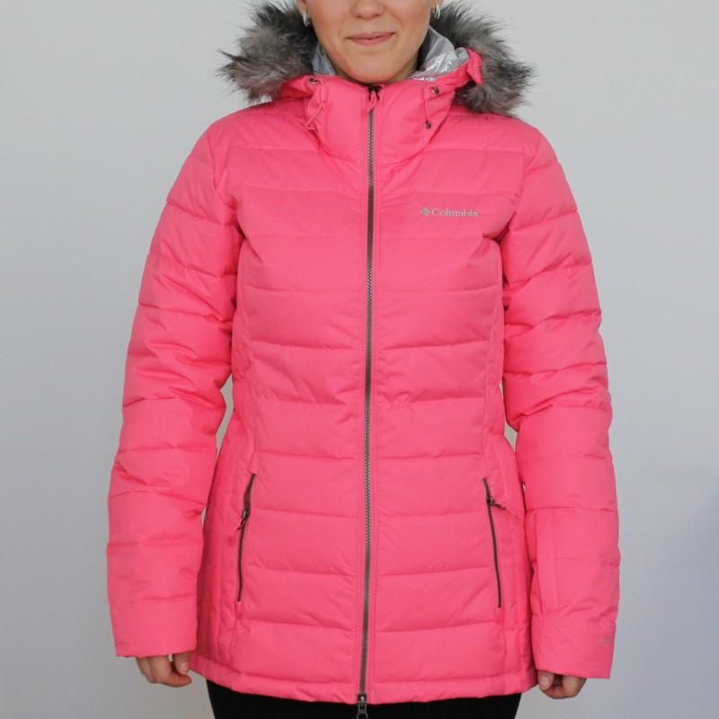 Купить Пуховики, Пуховик синтетический ash meadows jacket women's ski jacket (1780471-601), Columbia, Розовый, Осень, Зима, Осень-Зима 2017-2018