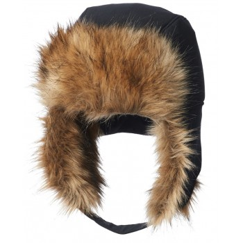 Фото Шапка Winter Challenger Trapper (1805161-010), Цвет - черный, Шапки и повязки