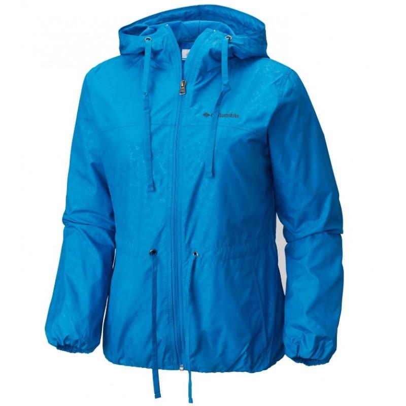 Купить Ветровки городские, Ветровка auroras wake ii long rain jacket (1819211-455), Columbia, Синий, Весна-Лето 2018