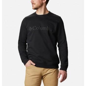 Фото Джемпер M Columbia Logo Fleece Crew (1884931-011), Цвет - черный, Джемперы