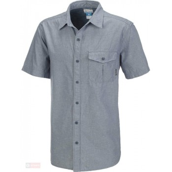 Фото Рубашка Columbia Cory Edge Short Sleeve Solid Shirt (AM9002-441), Короткий рукав