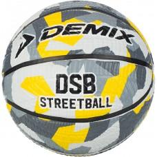 Мяч баскетбольный серый BR-STREET-AO